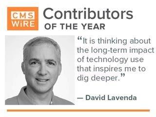 2020 Contributors of the Year: David Lavenda
